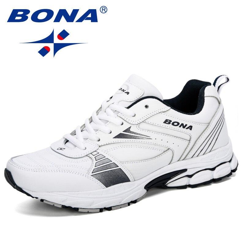 BONA 2019 chaussures de course pour hommes chaussures de sport pour hommes baskets hommes en plein air Chaussure Homme chaussures de sport Tennis confortable