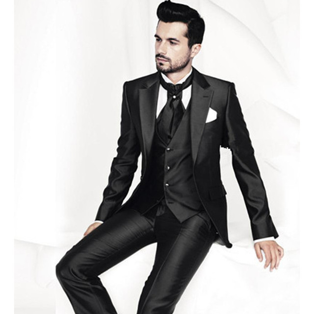 Custom Made Factory Groom Wear Business Suits Wedding Party Dress ...