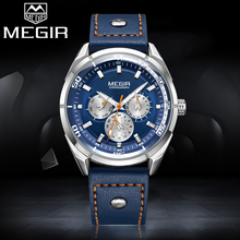 MEGIR Top Luxury Brand Men Quartz Watches Man Casual Sport Watch Mens Fashion Waterproof Clock Male Wristwatch Relogio Masculino