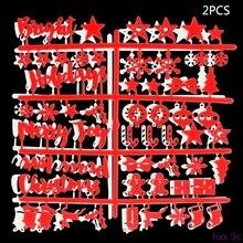 Высокое качество Рождество Войлок вывеска пластиковые буквы для буквы из фетра доска для вывески
