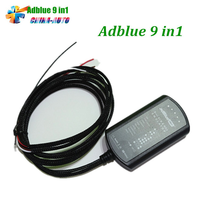 5pcs/lot Adblue 9in1 Super Adblue Emulator 9 in 1 Add for Truck better than adblue 8in1