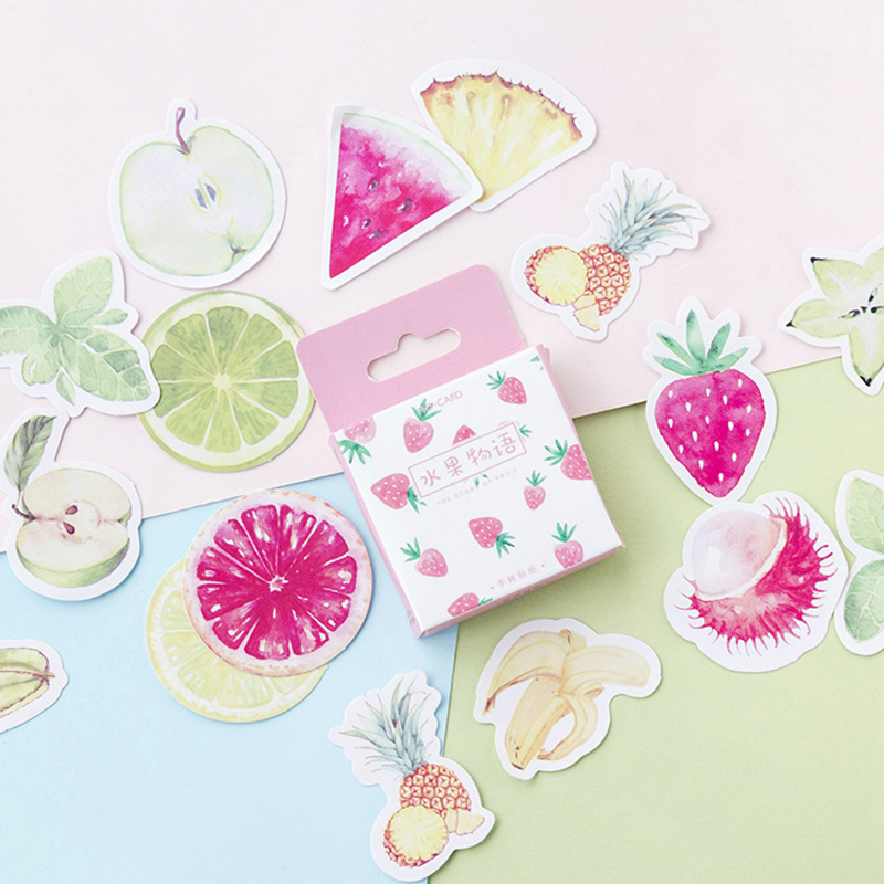 45-pcs-lot-healthy-fruit-stickers-set-decorative-stationery-stickers-scrapbooking-diy-diary-album-stick-lable