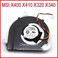 NEUE 6010H05F PFR DC5V 0.55A 3Pin Für MSI X400 X410 X320 X340 Laptop CPU Kühler Fan