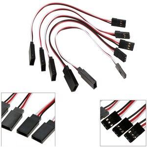 10pcs/lot 10cm 15CM 30CM 50CM 100CM RC Servo Extension Cord Cable Wire 150mm Lead JR Wholesale(China)