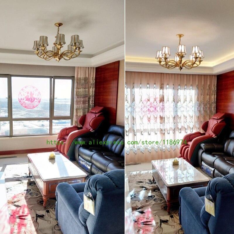 Retro Villa Kupfer Kronleuchter Antike Führte Kronleuchter Lampen Italien  Vintage Kronleuchter Penthouse Hotel Wohnzimmer Hängeleuchten In Retro  Villa ...