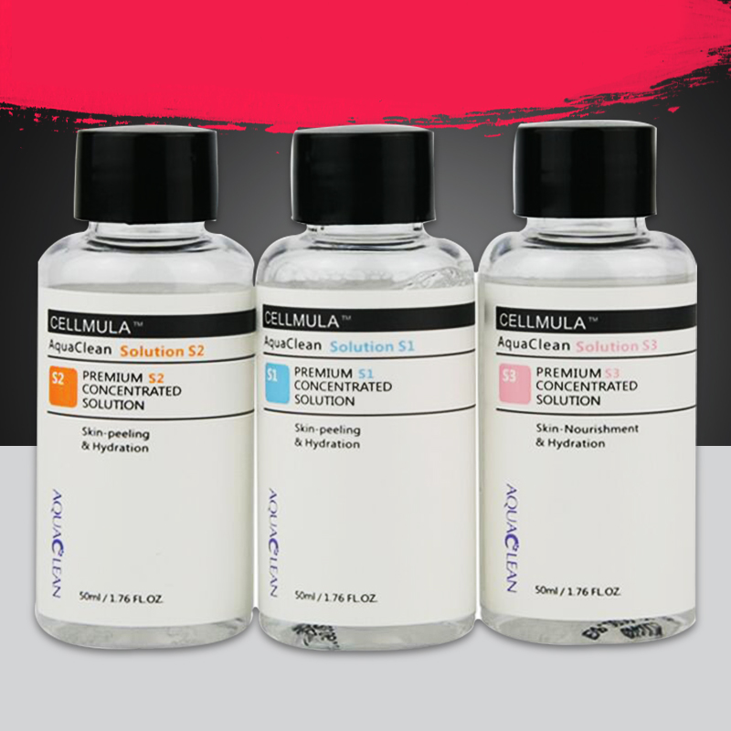 Aqua Peeling Solution 50ml Per Bottle Hydra Dermabrasion Facial Serum Cleansing For Normal Skin