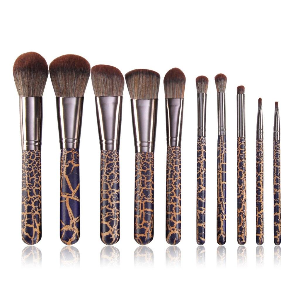 Professional Makeup Artist Make Up Қылқалам 10pcs Brush Set - Макияж - фото 4