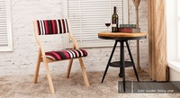 folding dinning room chair living room stool free shipping