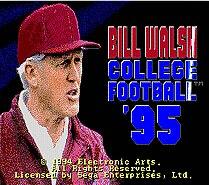 Bill Walsh Colleage Football 95 16 bit MD Game Card For Sega Mega Drive For Genesis