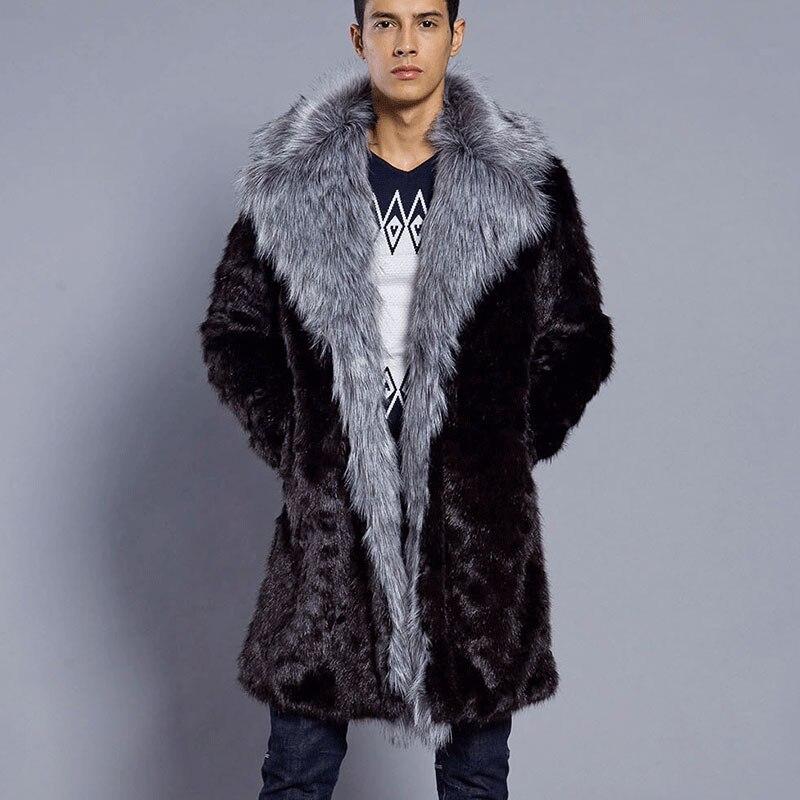 a8e28f4e8910b Pellicce-da-uomo-Cappotto-di-Inverno-Della-Pelliccia-del -Faux-Outwear-Turn-Imbottiture-Collare-Degli-Uomini.jpg