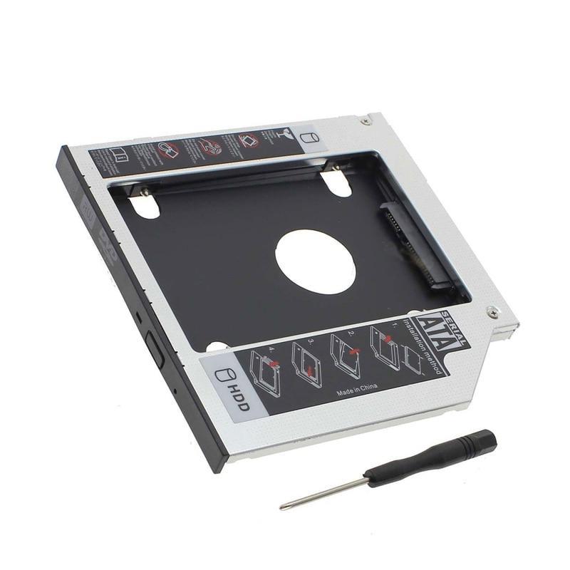 12 7mm SATA 2nd SSD HDD Caddy for ASUS X75 X75vb X75vc G51J G51J 3D N90S
