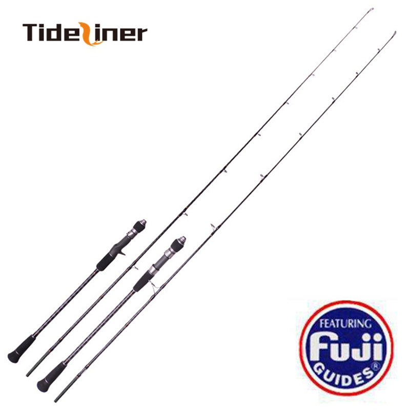 Full Fuji New Slow Jigging Rod 1 8m 1 95m 2 sections 100 350g PE 2