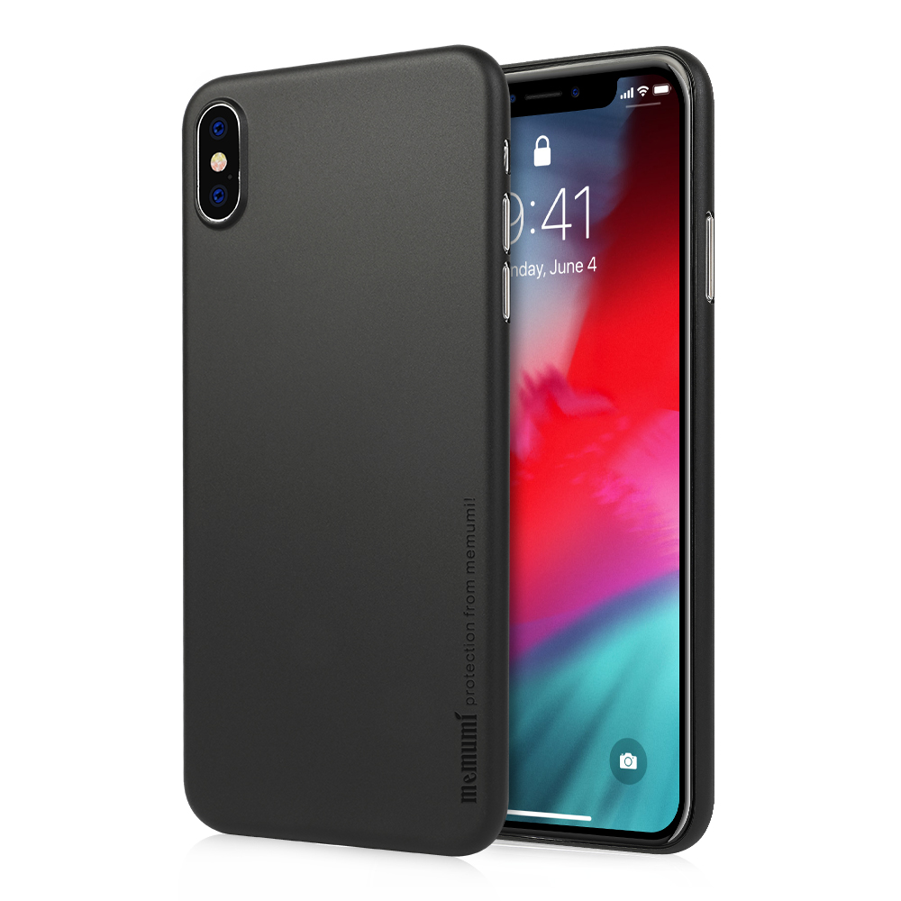 Memumi estojo para iphone xs max 6.5 2018, ultra fino 0.3mm pp acabamento fosco para iphone xs max caso de telefone fino anti-impressões digitais