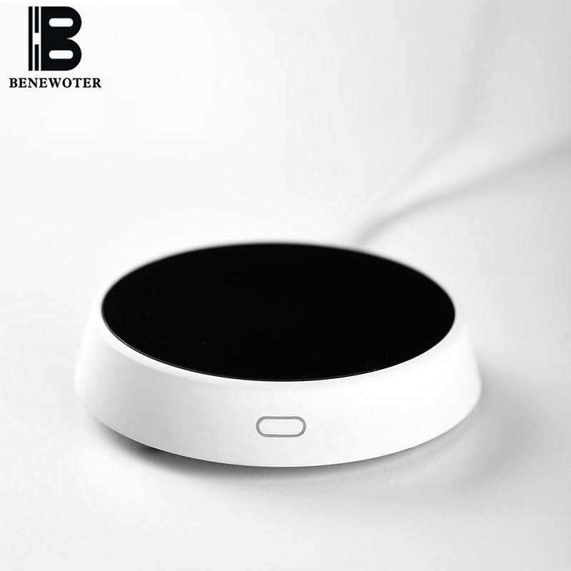Nouveau Design intelligent tactile Thermostat verre théière isolation Base bureau maison lait café chauffage thé poêle tasse d'eau chauffage plus chaud