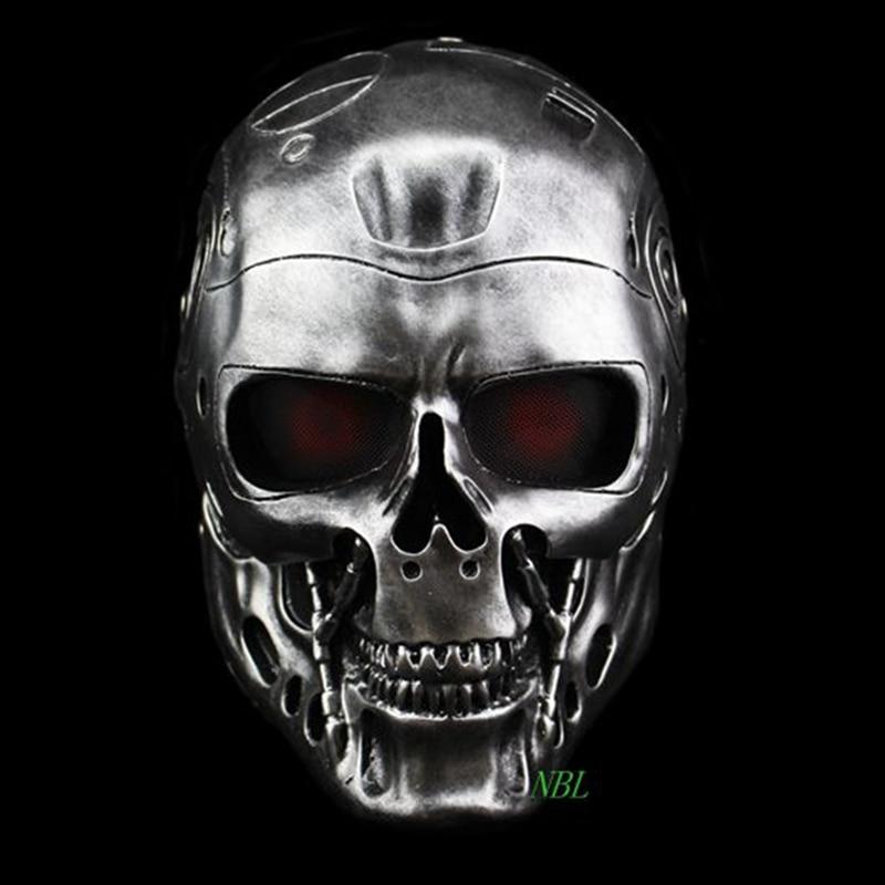 Halloween COS Terminator Helmet Masks Horror CS Paintball