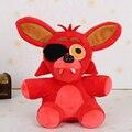 FNAF Foxy Плюша Toys-25cm Baby Дети Мягкие Игрушки детский Подарок Pelucia Juguetes Девочка Мальчик Игрушка