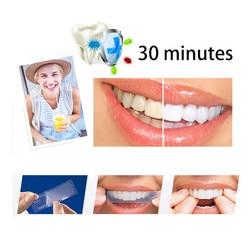 Новые полоски для отбеливания зубов для удаления пятен расширенные удобные полоски для отбеливания зубов двойной эластичный гель гигиена ...