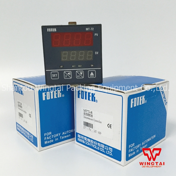 1pc Taiwan Fotek MT-72R 72x72mm Temperature Controller K/J/Pt PID Relay out + 2xAlarm genuine taiwan research anv time relay ah2 yb ac220v