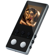 Odtwarzacz MP4 z bluetooth mp3 mp4 odtwarzacz muzyczny przenośny mp 4 media slim 1.8 cala klawisze dotykowe radio fm wideo Hifi 8GB