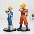 18 cm Dragon Ball Z Figura de Acción de Resolución de Soldados VOL 2 ROS DBZ Goku Vegeta Figura de Acción Figuras modelo