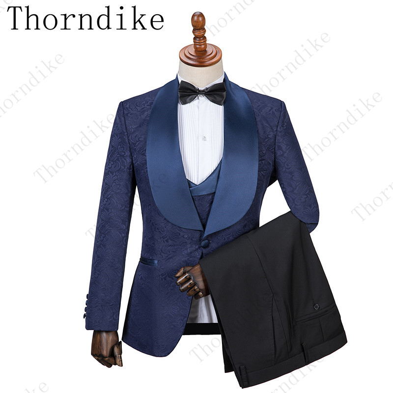 Tuxedos-Suits Groom Weddings Business Custom-Made One-Button Formal Best Mens Lapel Shawl
