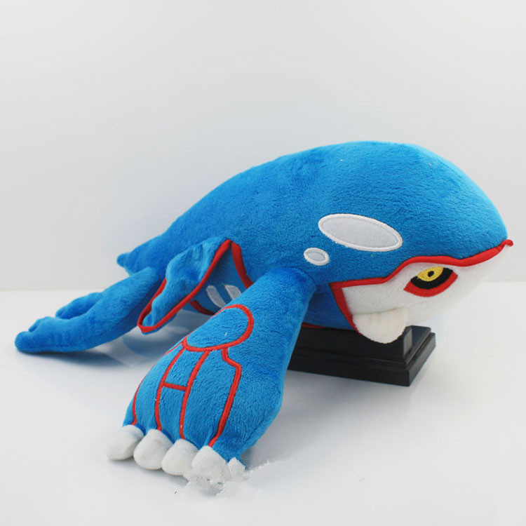 15inch 37cm Kyogre Plush Toy Stuffed Doll For Baby Gifts Free shipping