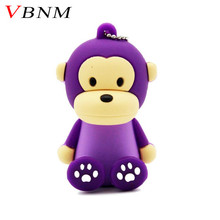 VBNM Monkey USB Flash Drive Pendrive 4GB 8GB 16GB 32GB