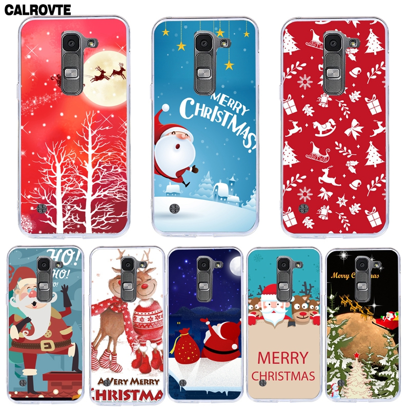 Soft TPU <font><b>Case</b></font> For <font><b>LG</b></font> <font><b>LEON</b></font> H340N H320 H324 Christmas Phone <font><b>Case</b></font> Cover for <font><b>LG</b></font> <font><b>leon</b></font> <font><b>4G</b></font> <font><b>Lte</b></font> C40 Printing Painted Silicone Shell Bags image