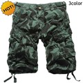 Fashion Summer Style Casual Cargo Shorts Multi-Pocket Jungle Camouflage Tactical Overalls Camo Short Trousers Plus Size29- 38