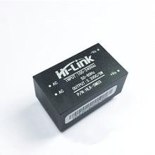 Ücretsiz kargo 5 adet/grup HLK 5M03 220 V 3.3 V 5 W mini güç kaynağı modülü akıllı ev AC DC trafo