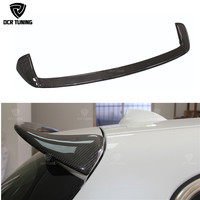 For BMW F20 Spoiler 2012 2018 1 Series 116i 120i 118i M135i F20 F21 Carbon Fiber Rear Roof / Top Spoiler AC Style F20 Spoiler