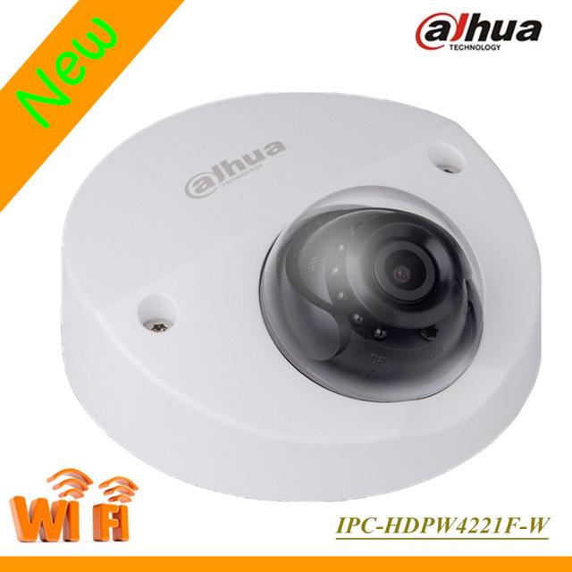 O mais novo de 2mp dahua câmera ip sem fio wi-fi ipc-hdpw4221f-w hdpw4221f-w microfone embutido suporte onvif e cartão sd