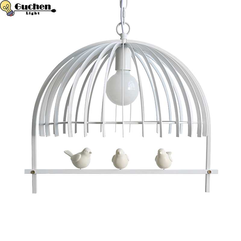 Nordic design Pendant Light Children Room bird cage lampshade Bedroom/Restaurant/shopwindow home Decor hanglamp led pendant lampNordic design Pendant Light Children Room bird cage lampshade Bedroom/Restaurant/shopwindow home Decor hanglamp led pendant lamp