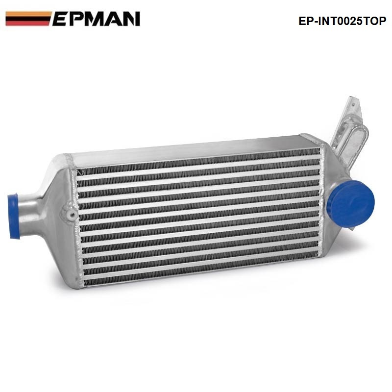 Top-Mount Bolt -On Aluminum Turbo Intercooler For Subaru Impreza WRX EJ25 GH GRB GEE 08-14 EP-INT0025TOP