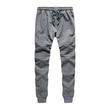 OEM Logo 2019 Original logo Big brand European size men Multi-pocket Overalls trousers sweatpants