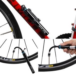 WEST BIKING портативный мини-велосипед шланг для насоса карманный насос Presta и клапан Шредера велосипед аксессуары 150 Высокое давление PSI Велосипедные насосы