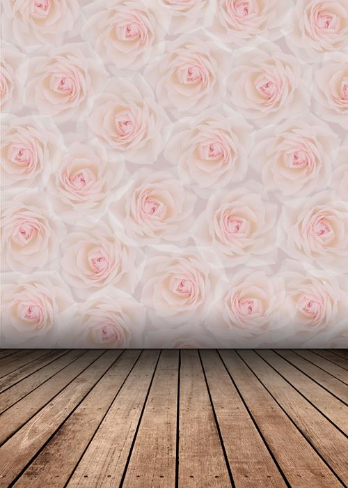 Baby Girl Names Wallpaper Huayi Rose Floral Photography Background Art Fabric Photo