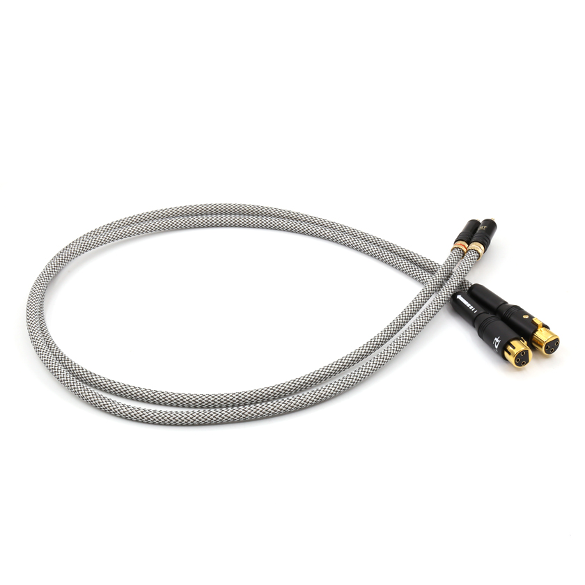 Free shipping QED Signature HIFI audio interconnect cable with WBT-0144 to paillice male plug connector цена