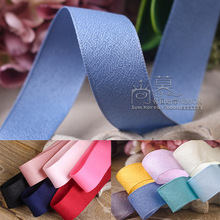 100yards 16/25/38mm polyester flax korean ribbon for hair bow head band accessories bouquet flower packing supplies