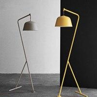 Nordic floor lamp For Bedroom Study room Livingroom lampadaire de salon Indoor home Decor tripod floor lamp E27 Bulb fixtures