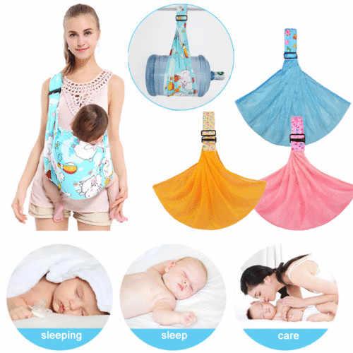 ทารกแรกเกิดทารก Adjustable Carrier Sling Wrap Rider กระเป๋ากระเป๋าเป้สะพายหลังกระเป๋า suspenders เด็ก nursing papoose pouch