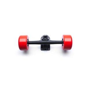 Image 5 - O skate bonde 24 v 36 volts duplo motor 75mm 350 w perfurando o caminhão do motor esc para 2 motores com movimentação remota dois quatro