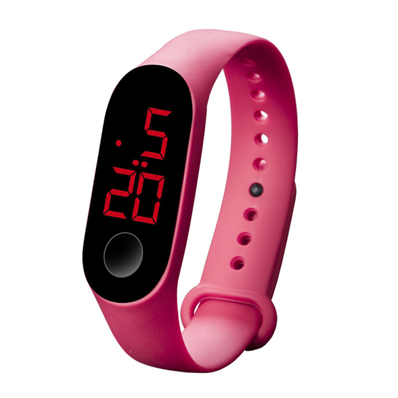 LED Electronic Sports Luminous Sensor Watches Fashion Men And Women Watches Man Woman Casual Watch Clock Digital Lovers' Watch 4