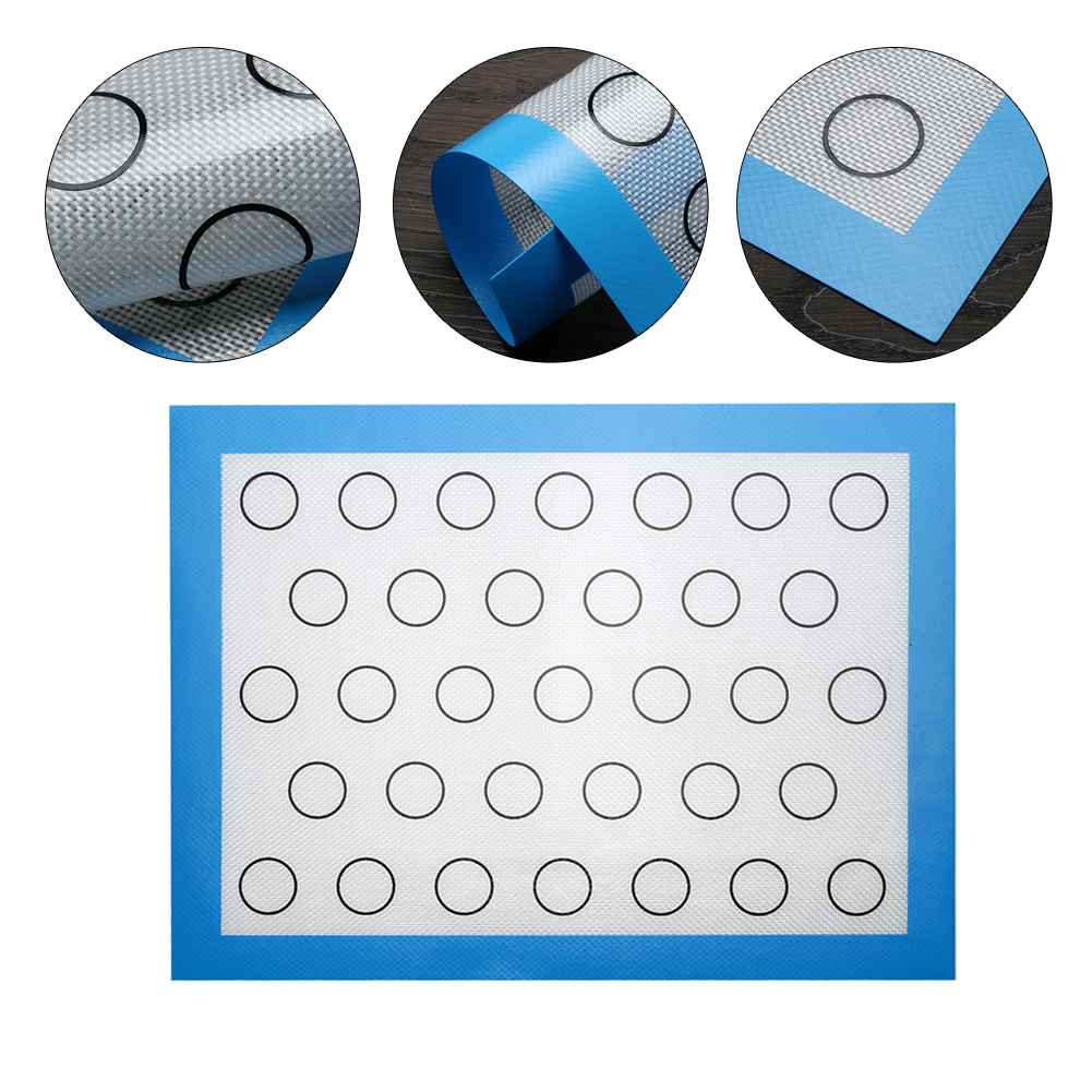 Non-Stick Silicone Dough Mat Bakeware Pastry Oven Pasta Tools Baking Sheet Tray Liner Mat High Quality Cake Mold Pad