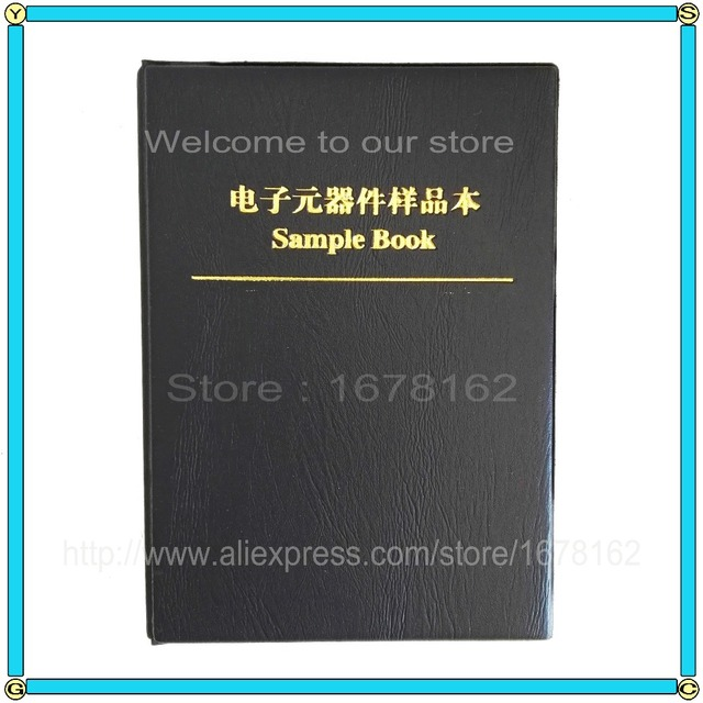 0402/0603/0805/1206 электронный компонент резисторный конденсатор индуктор пустой SMD компоненты пустой образец книги