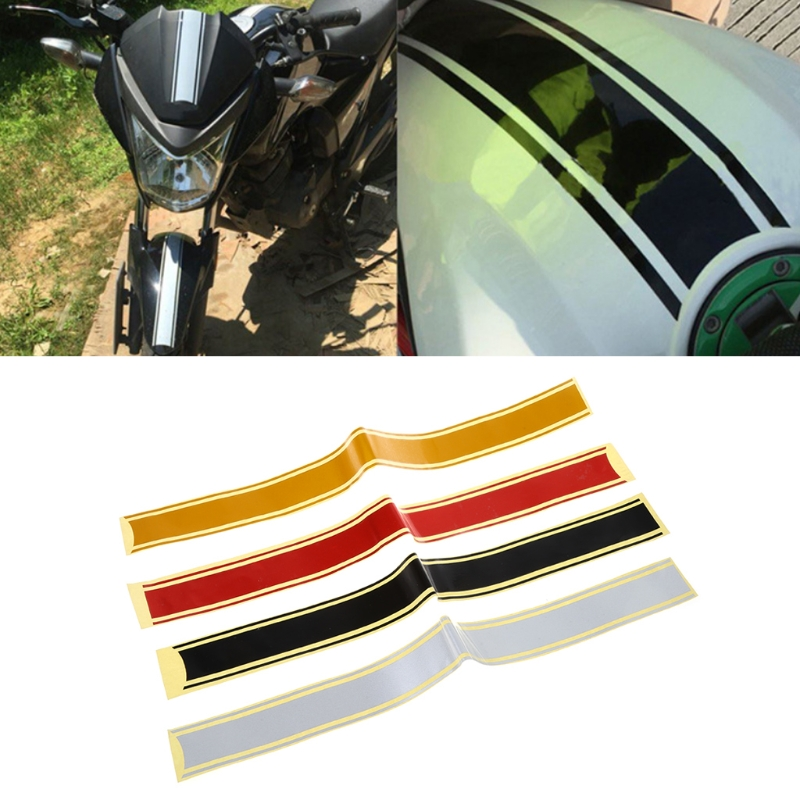 50 X 4.5 Cm Motorcycle DIY Tank Fairing Cowl Vinyl Stripe Pinstripe Decal Sticker For Cafe Racer