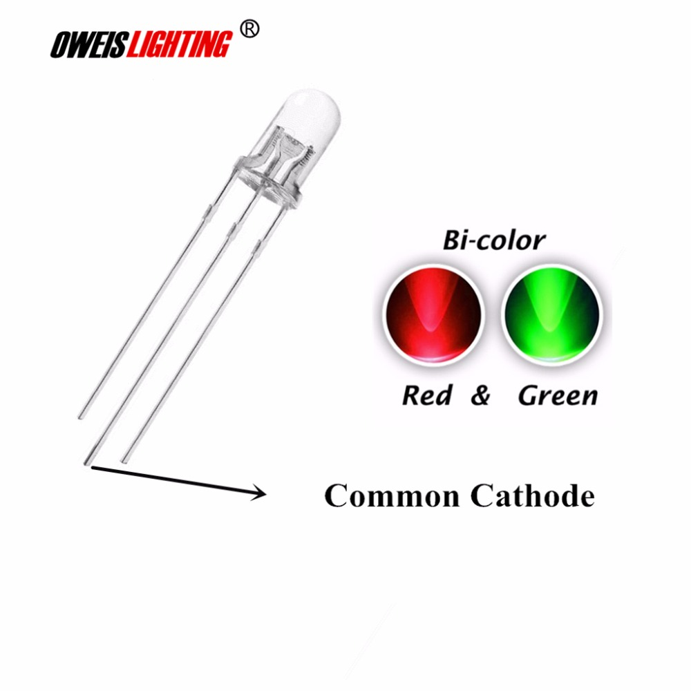 3mm 10mm Various Colours LEDs Pack Waterclear LED Ultrabright 1.8mm 5mm 8mm