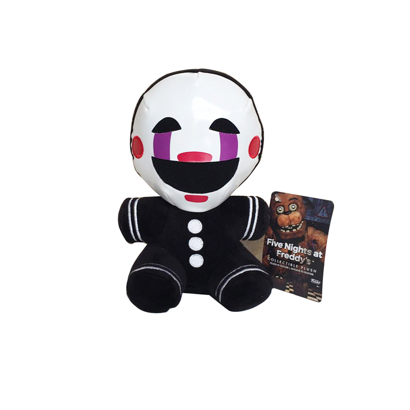18cm FNAF Five Nights At Freddy 4 Nightmare Freddy Clown Marionette Plush Stuffed Toys Doll Soft Toy Gifts For Children Kids