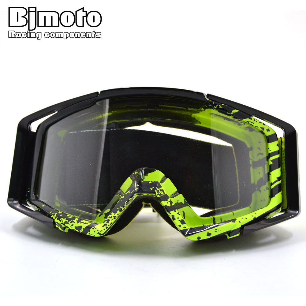 BJMOTO MG-020 New Motorcycle Protective Glasses Outdoor Sports Windproof Dustproof Eye Glasses Ski Snowboard Goggles Motocross