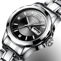 2018 Binger Watch Women Luxury Brand Japan Automatic Mechanical Movement Wrist Sapphire Waterproof Ladies Watch gold B8051 6